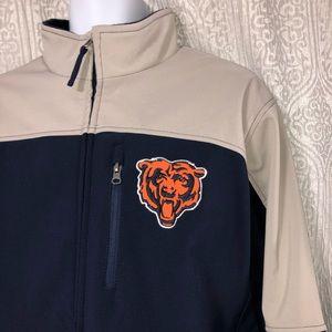 🎁NWT🎁 NFL Chicago Bears football full zip jacket